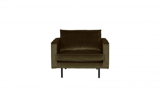 Rodeo Fauteuil Velvet Dark Green Hunter