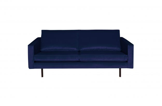 Rodeo Bank 2,5-zits Velvet Dark Blue Nightshade