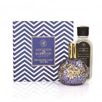 Blue Masquarade Fragrance Lamp + 250ml Enchanted Forest
