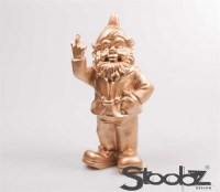 kabouter 20cm goud