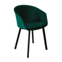 Kick eetkamerstoel Vic groen Kickcollection